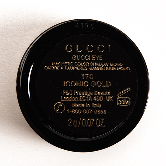 Gucci Iconic Gold Magnetic Color Shadow Mono