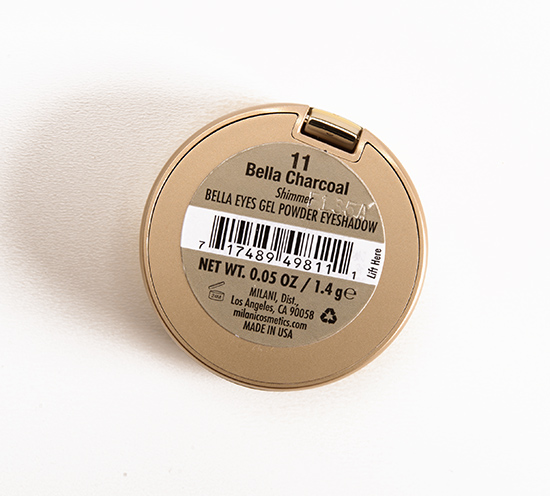 Milani Bella Charcoal (11) Bella Eyes Gel Powder Eyeshadow
