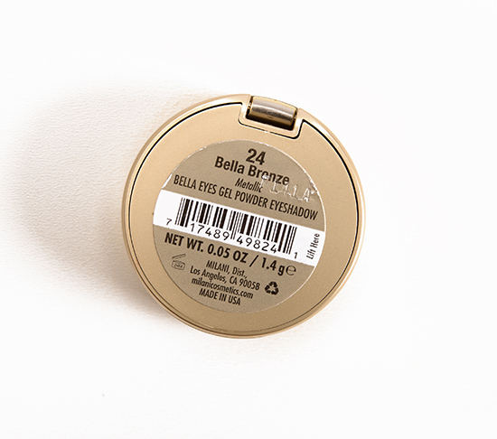 Milani Bella Bronze (24) Bella Eyes Gel Powder Eyeshadow
