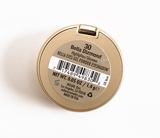 Milani Bella Diamond (30) Bella Eyes Gel Powder Eyeshadow
