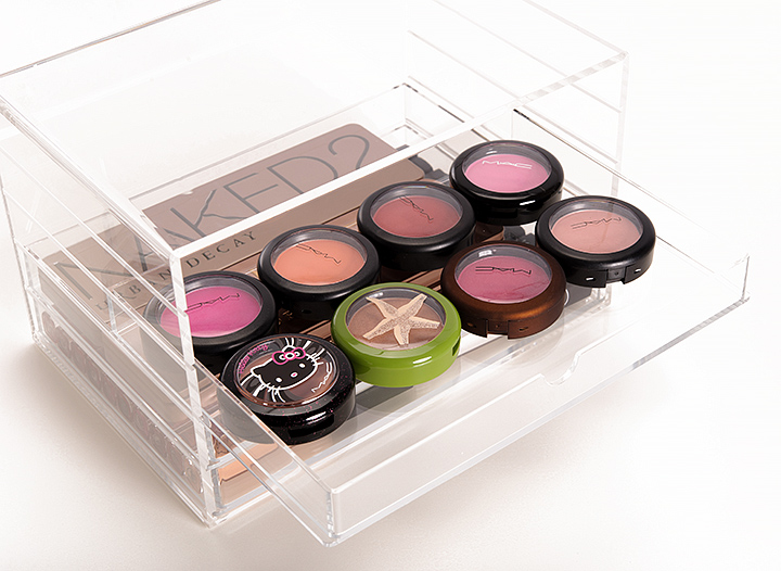 Muji 5-Drawer Acrylic Drawers