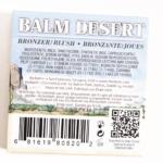 theBalm Balm Desert Bronzer/Blush