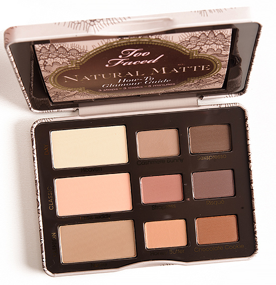 Two Faced Natural Eye Palette Matte