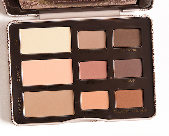 Too Faced Natural Eye Palette Temptalia