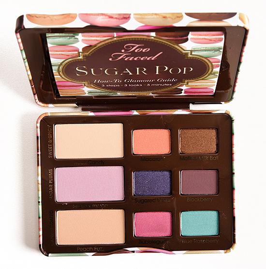 Too Faced Sugar Pop Eye Shadow Collection
