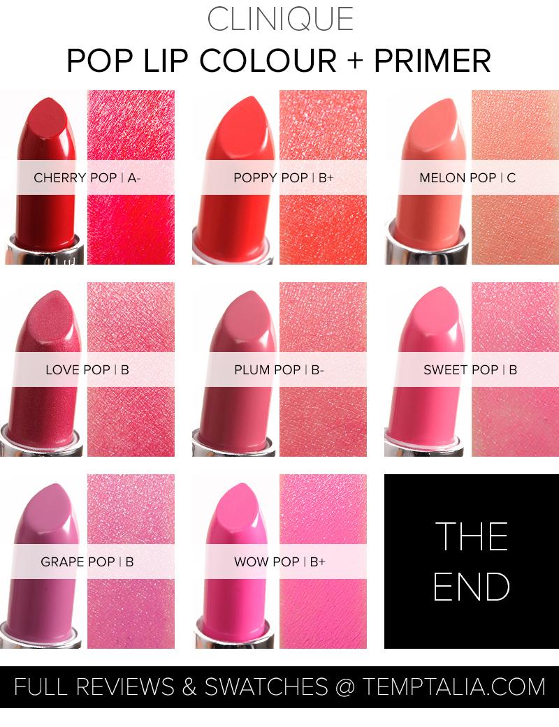 Round Up Clinique Pop Lip Colour Primer Overview Amp Thoughts