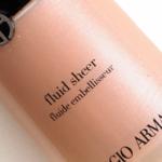 Giorgio Armani No. 11 Fluid Sheer