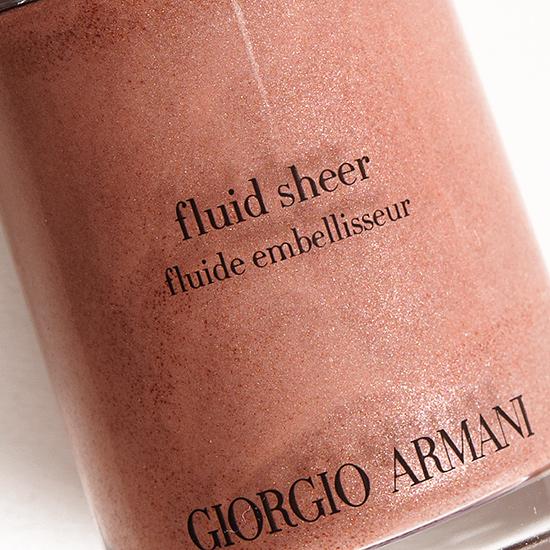 Giorgio Armani No. 17 Fluid Sheer