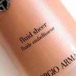 Giorgio Armani No. 03 Fluid Sheer