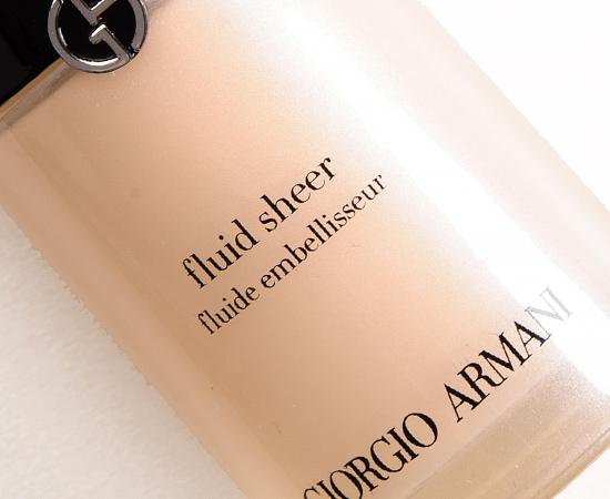 Giorgio Armani No. 07 Fluid Sheer
