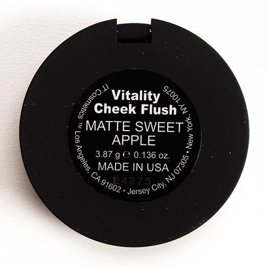 IT Cosmetics Matte Sweet Apple Vitality Cheek Flush