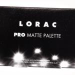 LORAC PRO Matte Pro Palette (8-Pan)