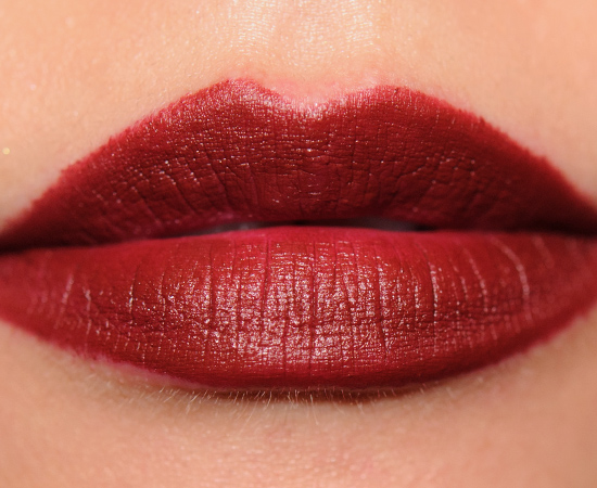 Maybelline Burgundy Blush ColorSensational Creamy Matte Lip Color