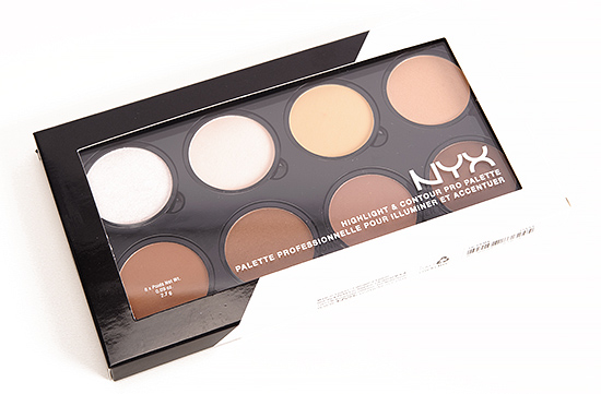 nyx highlight contour palette review photos swatches. Black Bedroom Furniture Sets. Home Design Ideas