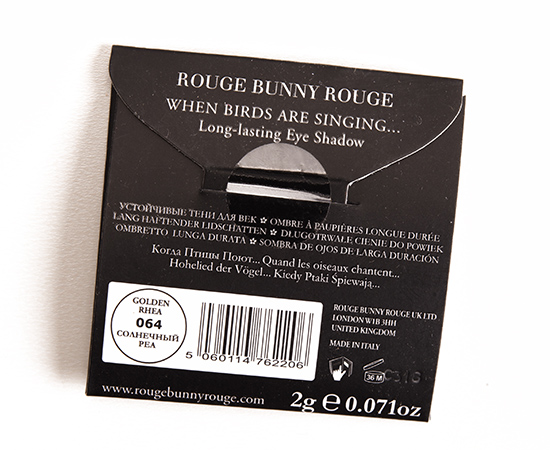 Rouge Bunny Rouge  Long-Lasting Eyeshadow