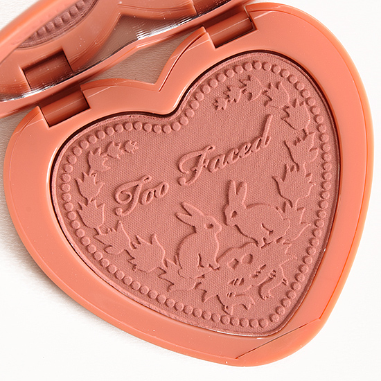 Too Faced Baby Love Love Flush Blush Review Photos Swatches