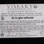 Viseart Bright Editorial (08) Pigment Palette