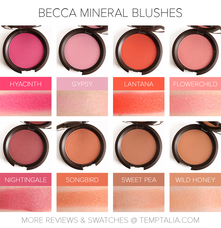 Becca Mineral Blushes
