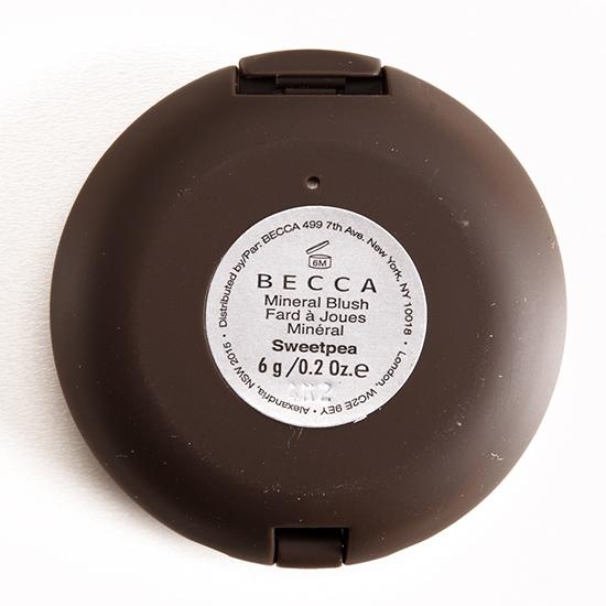 Becca Sweet Pea Mineral Blush