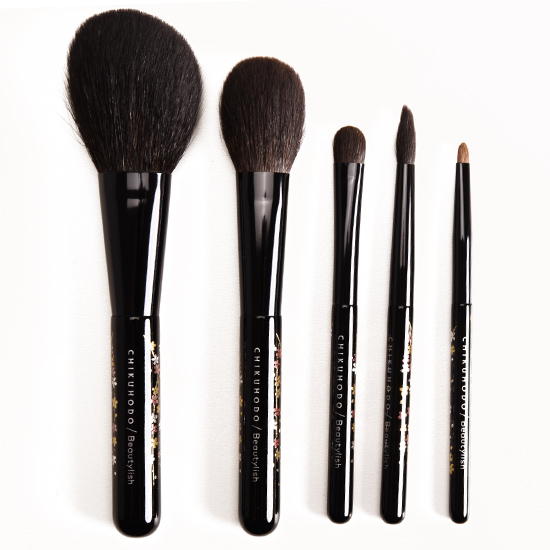 Chikuhodo x Beautylish Sakura Brush Set