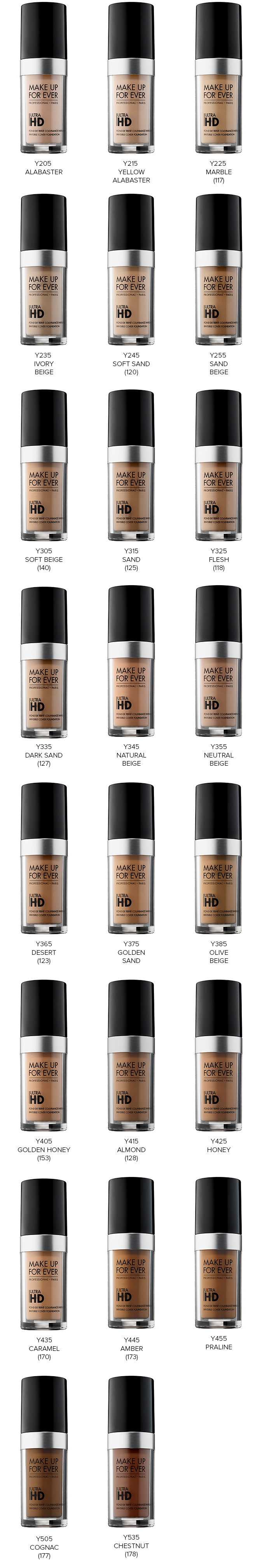 Make Up For Ever Ultra HD Foundation