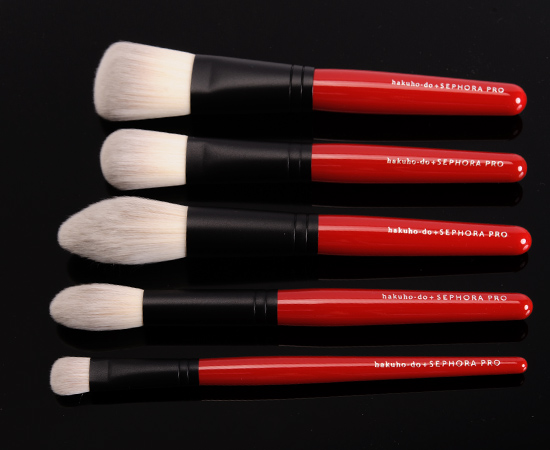 Hakuhodo x Sephora PRO Brush Collection