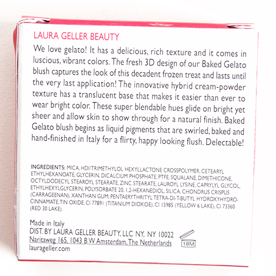 Laura Geller Cantaloupe Baked Gelato Swirl Blush