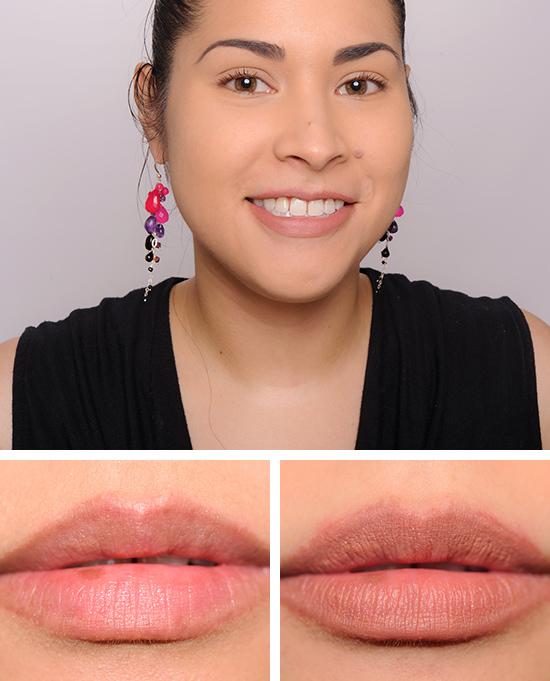 mac pretty natural lip kit review  photos  swatches