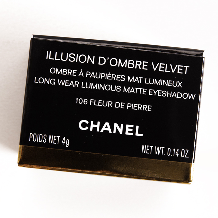 Chanel Fleur de Pierre (106) Illusion d'Ombre Cream Eyeshadow
