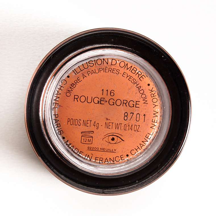 Chanel Rouge-Gorge (116) Illusion d'Ombre Cream Eyeshadow