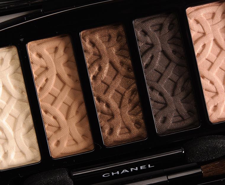 Chanel Entrelacs Les 5 Ombres de Chanel Eyeshadow Palette