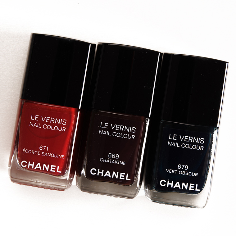 Chanel Fall 2015 Le Vernis Nail Colour