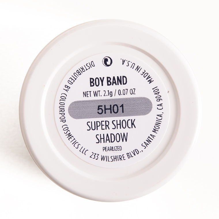 ColourPop Boy Band Super Shock Shadow