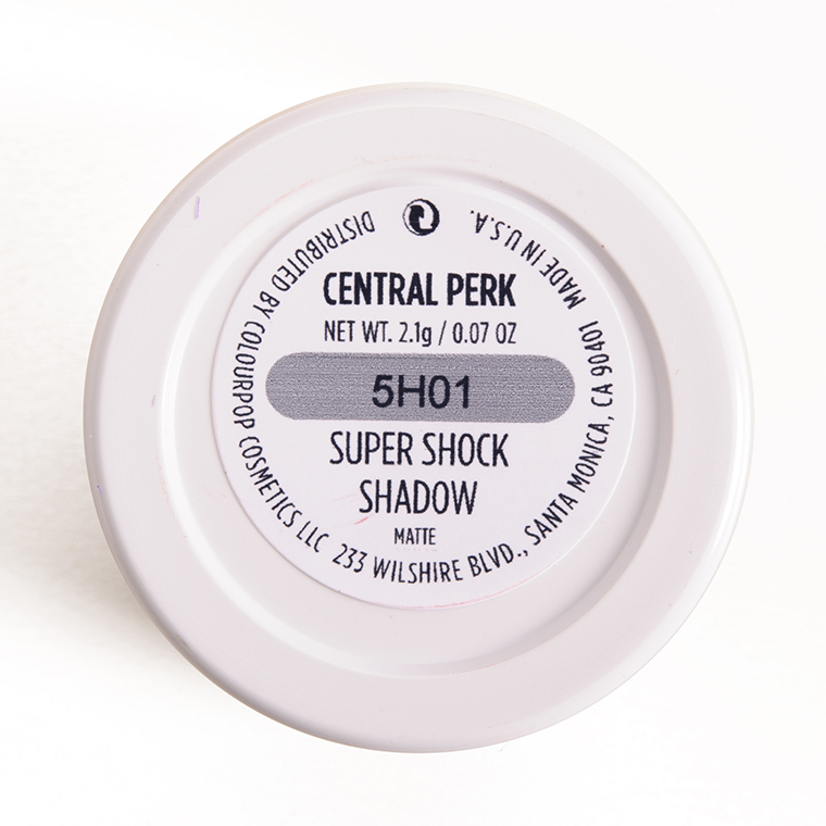 ColourPop Central Perk Super Shock Shadow