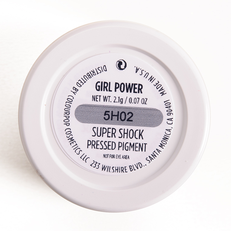 ColourPop Girl Power Super Shock Pressed Pigments