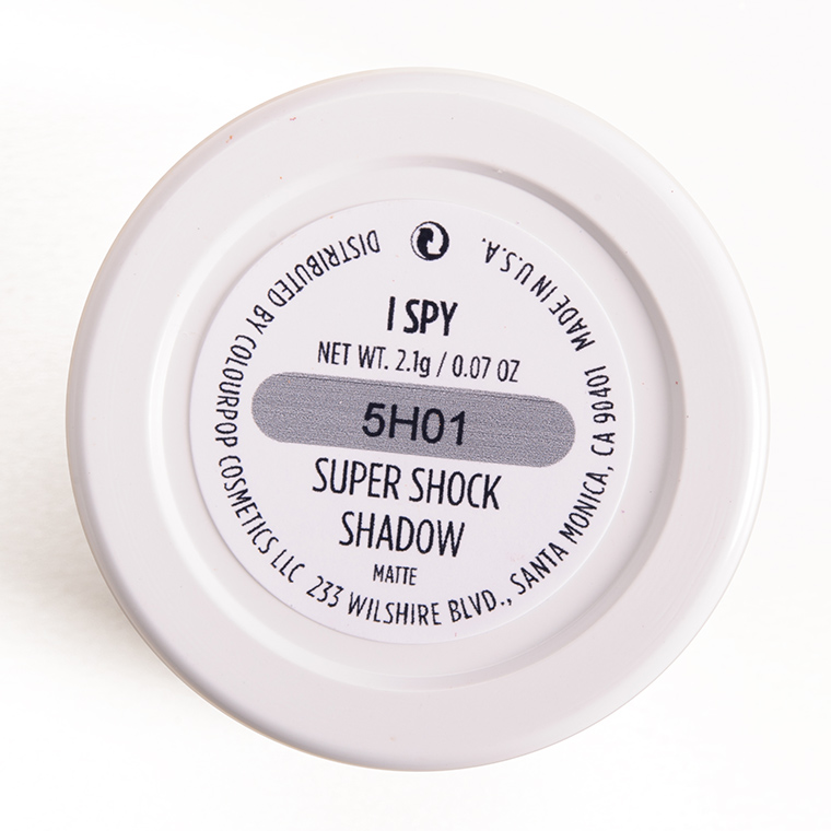 ColourPop I Spy Super Shock Shadow