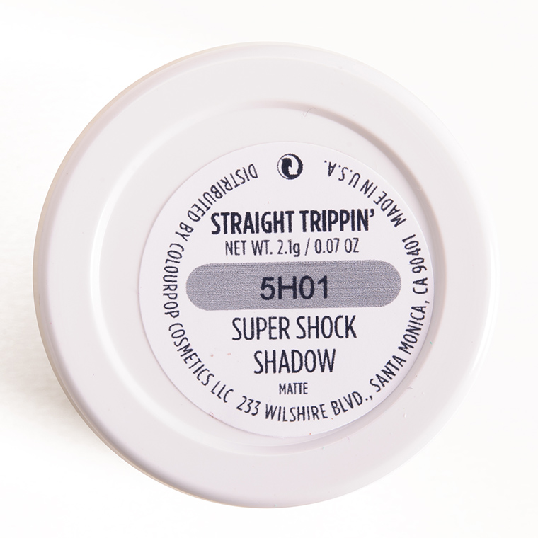 ColourPop Straight Trippin' Super Shock Shadow