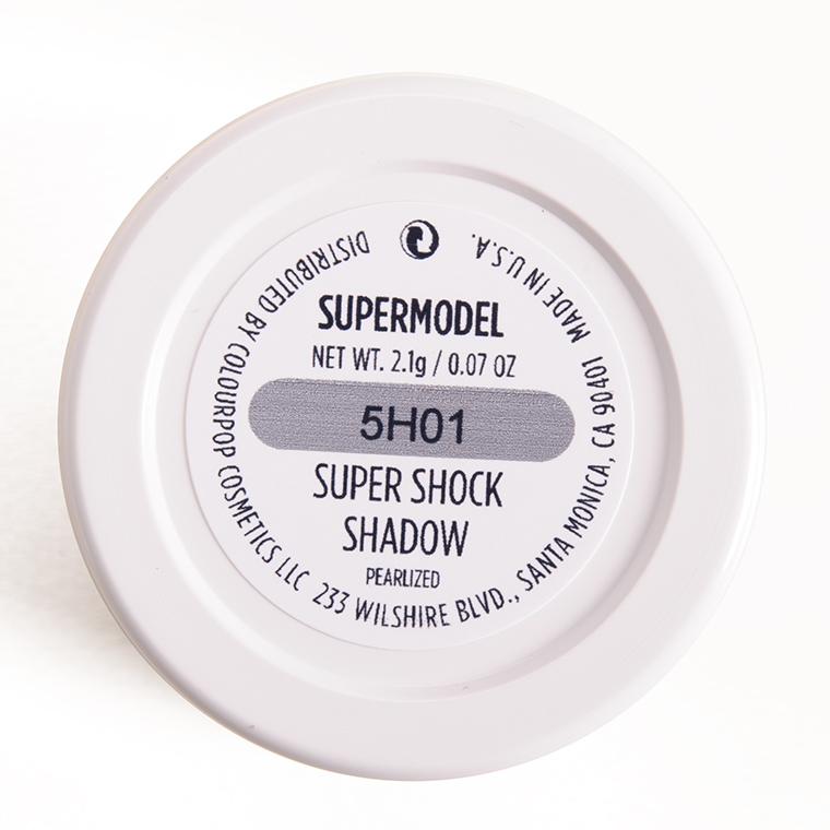 ColourPop Supermodel Super Shock Shadow