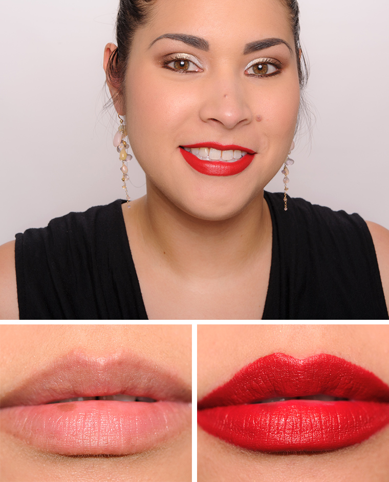 Estee Lauder Decisive Poppy Pure Matte Sculpting Lipstick