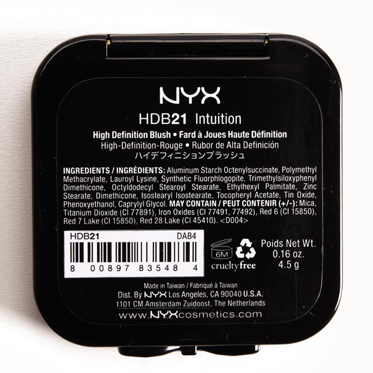NYX Intuition HD Blush