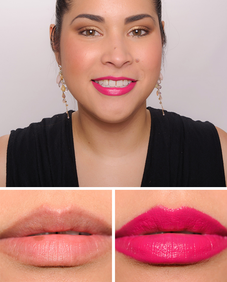 Bobbi Brown Raspberry Pink Luxe Lip Color
