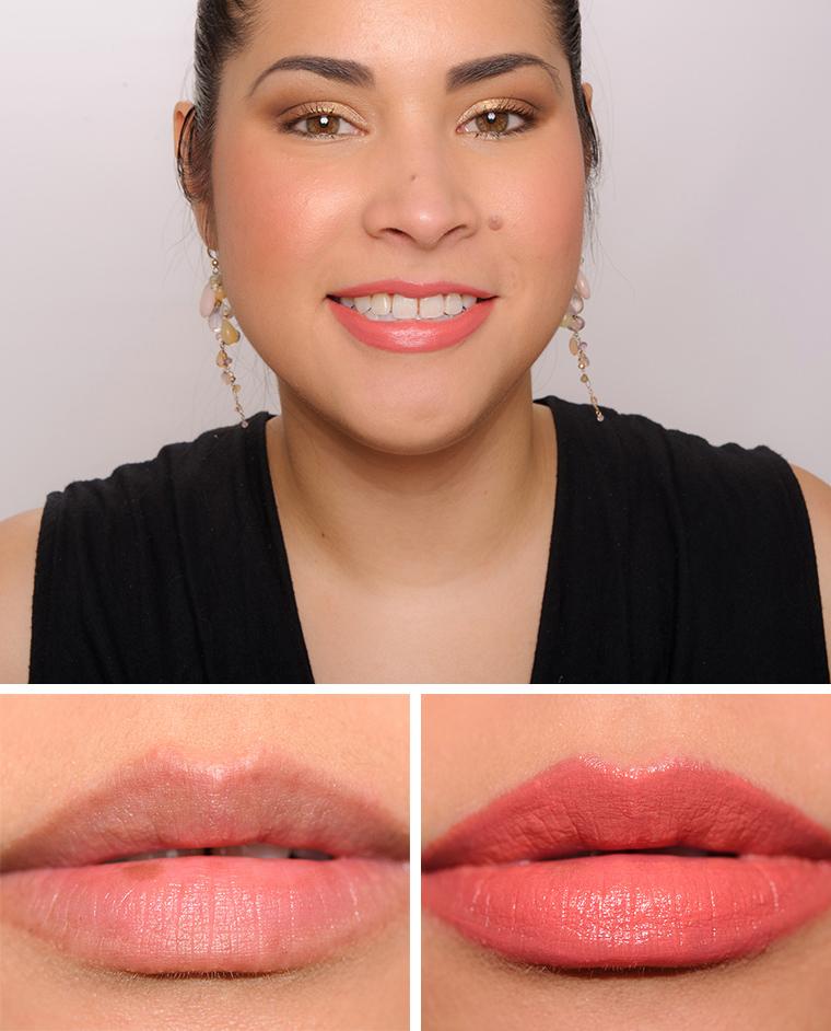 Bobbi Brown Retro Coral Pink Guava Pale Coral Luxe Lip