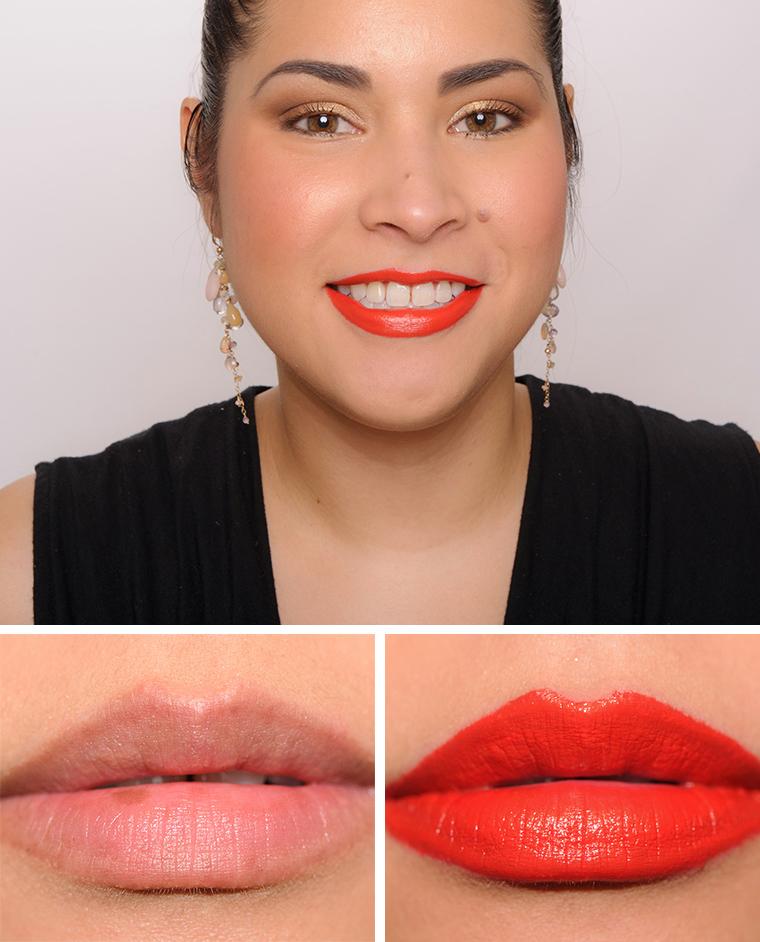 Bobbi Brown Sunset Orange Luxe Lip Color
