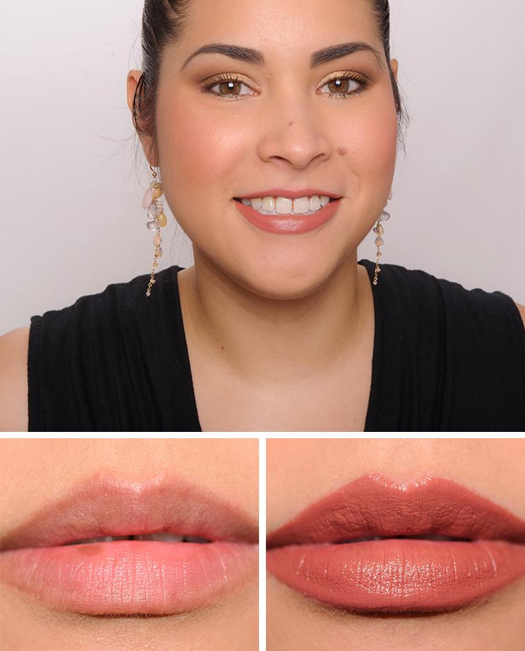 Bobbi Brown Neutral Rose Pink Buff Soft Berry Luxe Lip