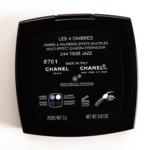 Chanel Tisse Jazz (244) Les 4 Ombres Multi-Effect Quadra Eyeshadow
