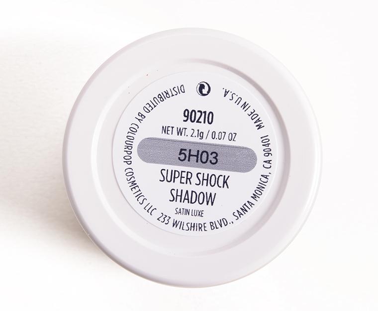 ColourPop 90210 Super Shock Shadow