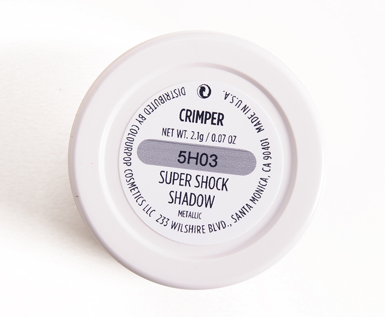 ColourPop Crimper Super Shock Shadow