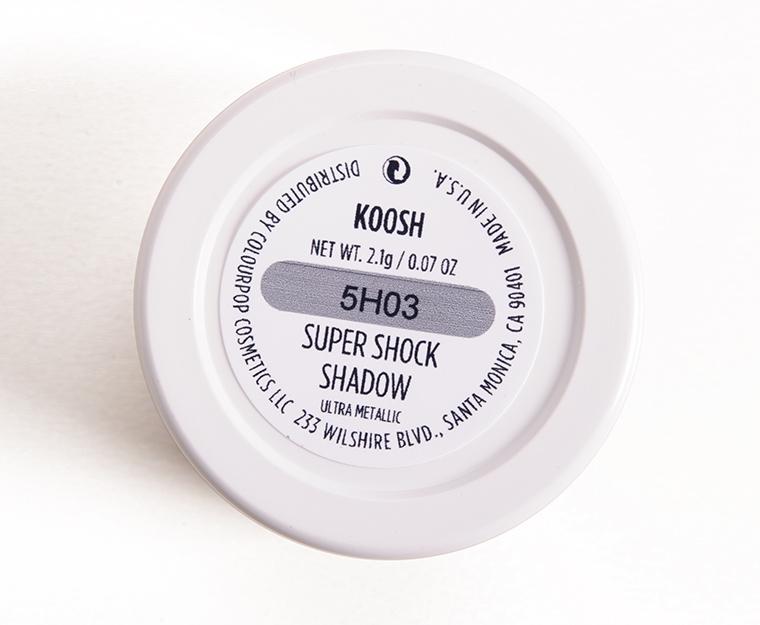 ColourPop Koosh Super Shock Shadow