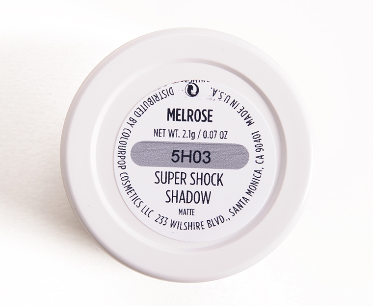 ColourPop Melrose Super Shock Shadow
