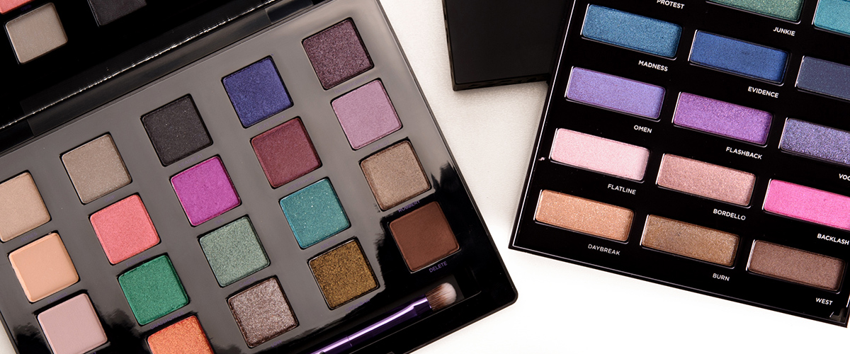 Best Urban Decay Products Swatches